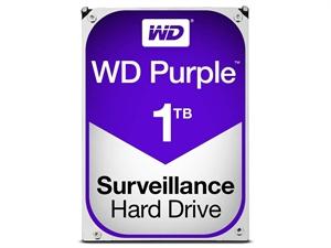 "Western Digital Purple 1TB 3.5"" SATA3 Surveillance Hard Drive"
