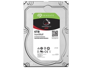 "Seagate IronWolf 6TB 3.5"" NAS Hard Drive - ST6000VN0033"