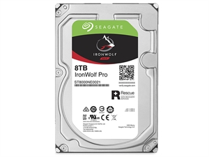 "Seagate Ironwolf Pro 8TB 3.5"" NAS Hard Drive + 2 Years Data Recovery"