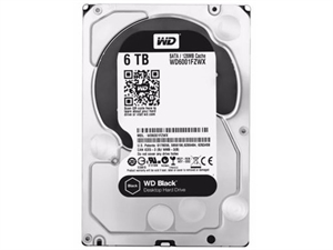 """Western Digital Black 6TB 3.5"""" SATA3 Hard Drive - WD6002FZWX"""