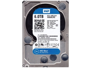 """Western Digital Caviar Blue 6TB 3.5"""" Internal Hard Drive - WD60EZRZ"""