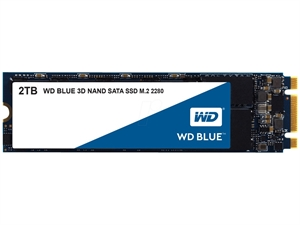 Western Digital WD Blue 2TB 3D NAND M.2 SSD