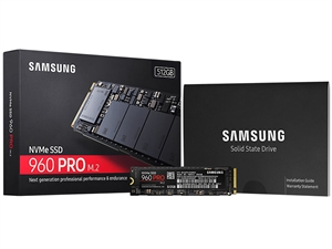 Samsung 960 Pro 512GB M.2 2280 SSD - MZ-V6P512BW