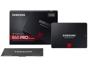 "Samsung 860 PRO 512GB 2.5"" SATA III SSD - MZ-76P512BW"