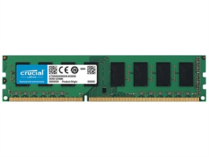 Crucial 4GB DDR3 PC12800 1600MHz CL11 Dual Ranked Desktop RAM