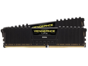 Corsair Vengeance 8GB (2x4GB) DDR4 2666MHz Desktop RAM - Black