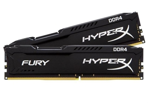 Kingston HyperX FURY 16GB (2x 8GB) DDR4 2666MHz Desktop RAM