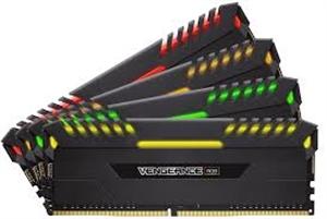 Corsair Vengeance RGB 32GB (4x 8GB) DDR4 3000MHz Desktop RAM