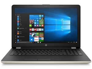 "HP 15-BS650TX (2YD72PA) 15.6"" FHD Intel Core i5 Laptop - Silk Gold"