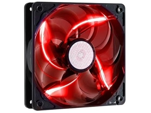 Cooler Master SickleFlow X 120mm Case Fan - Red LED