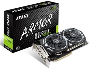 MSI GeForce GTX 1080 Ti ARMOR 11GB OC Graphics Card