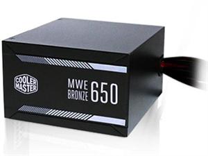 Cooler Master MWE Series 650W 80 Plus Bronze Power Supply
