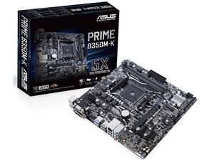 ASUS PRIME B350M-K AM4 Micro-ATX Motherboard