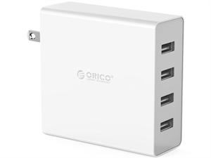 Orico 4 Port USB Wall Charger - White