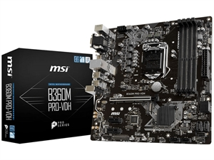 MSI B360M PRO-VDH Intel 8th Gen Motherboard