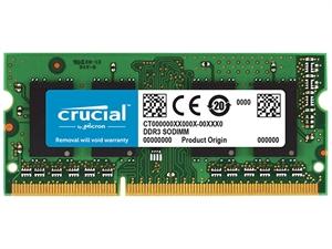 Crucial 16GB (1x 16GB) DDR3L 1600MHz SODIMM RAM