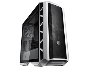 Cooler Master H500P Tower Tempered Glass Window Case - Mesh White