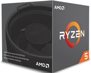 AMD Ryzen 5 2600 6 Core Processor - YD2600BCAFBOX
