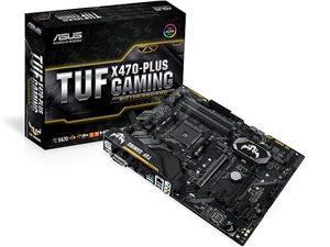 ASUS TUF X470-Plus Gaming AMD AM4 Motherboard