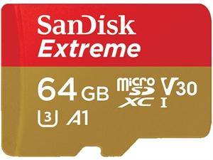 Sandisk Extreme microSDXC UHS-1 64GB SD Card
