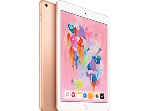 "Apple iPad 9.7"" (6th Gen. 2018) Tablet 32GB WiFi + Cellular - Gold"