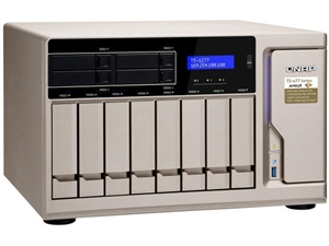 QNAP TS-1277-1700-16G 8+4 Bay Diskless AMD Ryzen 7 NAS