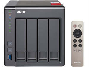 QNAP TS-451+-2G 4 Bay Quad Core Diskless NAS