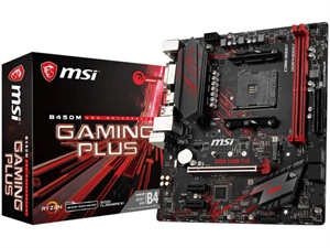 MSI B450M Gaming Plus AM4 mATX Motherboard