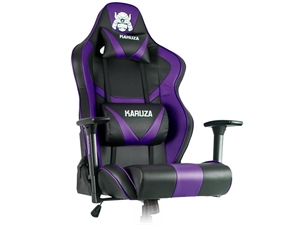 Karuza YX-802 Gaming Chair - Black/Purple