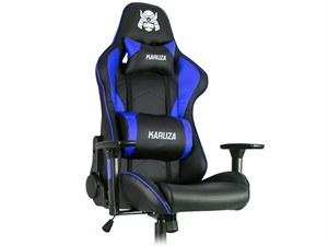 Karuza YX-1216 Gaming Chair - Black/Blue
