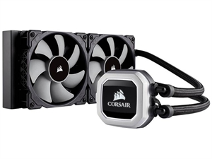 Corsair Hydro Series H100i PRO RGB 240mm Extreme Performance Liquid CPU Cooler