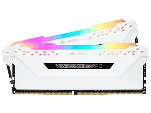 Corsair Vengeance RGB PRO 32GB (2x 16GB) DDR4 3200Mhz Desktop RAM - White