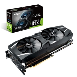 Asus Dual GeForce RTX 2080 8GB OC Edition Graphics Card