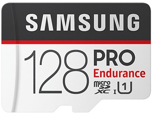 Samsung 128GB PRO Endurance MicroSDXC Card with SD Adapter