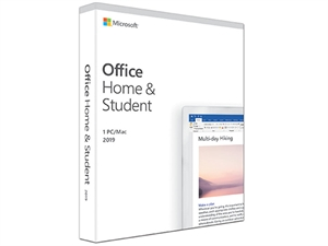 Microsoft Office 2019 Home and Student - 1 Device - Retail Medialess