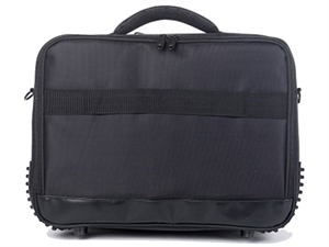 "STC Clam Shell Carrycase up To 16"" Nb Black Nylon 210d Water Resistant"