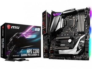 MSI MPG Z390 GAMING PRO CARBON AC Intel 8th/9th Gen Motherboard