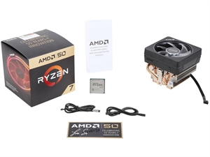 AMD Ryzen 7 2700X 50th Anniversary Edition with Wraith Prism cooler