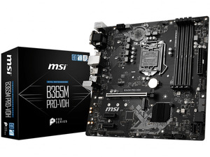 MSI B365M Pro-VDH Intel 9th Gen Motherboard