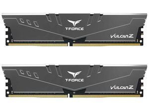 Team T-Force Vulcan Z 16GB (2x8GB) DDR4 3000MHz Desktop RAM - Grey