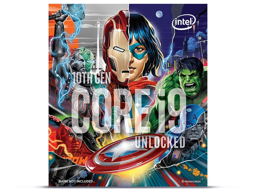Intel 10th Gen Core i9-10900KA 3.7GHz Processor - Marvel's Avengers Collector's Edition (No CPU cooler)